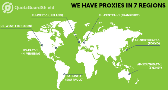 7 Global Regions for Proxies